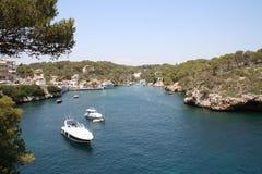 Corfu zatoka Zdjęcia Royalty Free