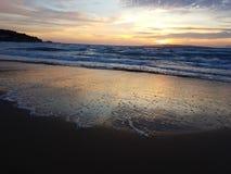 Corfu zmierzch fotografia stock