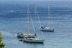 corfu希腊爱奥尼亚人海岛paleokastritsa海运 免版税库存照片