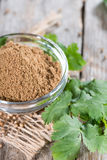 Coriander Powder Stock Photos