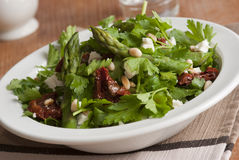 Coriander salad Royalty Free Stock Images