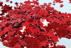 Coriandoli della stella Fotografia Stock Libera da Diritti