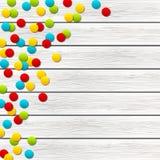 Coriandoli di colore Fotografia Stock Libera da Diritti