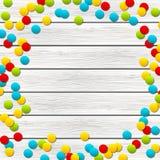 Coriandoli di colore Fotografia Stock
