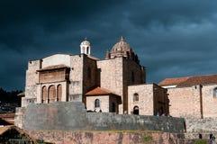 Coricancha de Kathedraal van Santo Domingo Stock Afbeelding