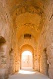 Coridor of Colosseum Stock Photo