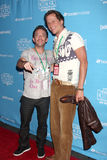 Corin Nemec, David Faustino Royalty Free Stock Image