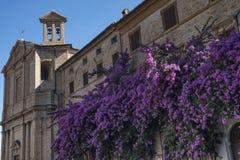 Corinaldo Marches, Italy at morning Royalty Free Stock Photos