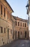 Corinaldo Marches, Italy at morning Stock Photo