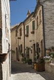 Corinaldo Marches, Italy at morning Stock Images