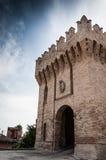 Corinaldo Marche Italia fotografía de archivo