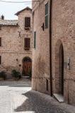 Corinaldo Marche Italia foto de archivo