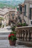 Corinaldo Marche Italia imagen de archivo