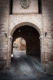 Corinaldo Marche Italie Photos libres de droits