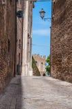 Corinaldo Marche Italie Photographie stock libre de droits