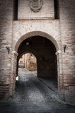 Corinaldo Marche Italy Royalty Free Stock Photos