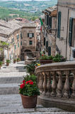 Corinaldo Marche Italy Stock Image