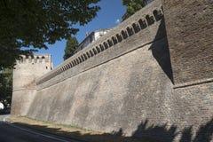 Corinaldo marsze, Włochy przy rankiem obrazy stock