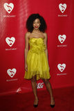 Corinne Bailey Rae. LOS ANGELES - FEB 10:  Corinne Bailey Rae arrives at the 2012 MusiCares Gala honoring Paul McCartney at LA Convention Center on February 10 Stock Photo