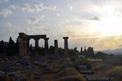 Corinth antigo Foto de Stock Royalty Free