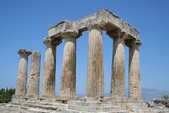 Corinth antigo Fotografia de Stock