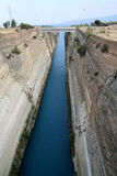 Corinth Canal Royalty Free Stock Images