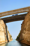 The Corinth Canal Stock Photography