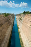 Corinth canal Stock Photo