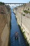 Corinth Canal, Greece Royalty Free Stock Image
