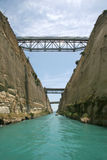 Corinth Canal, Greece Royalty Free Stock Photo