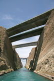 Corinth Canal, Greece Stock Image