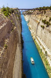 Corinth Canal, Greece Stock Photos