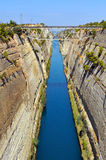Corinth canal Stock Image