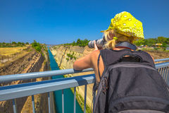 Free Corinth Canal Photographer Stock Images - 94561924