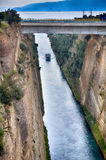 Corinth channel, Greece Stock Photography