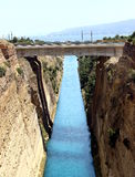 Corinth channel Royalty Free Stock Photos