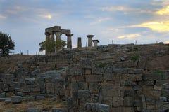 Corinth, Greece Royalty Free Stock Photos