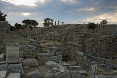 Corinth, Greece royalty free stock images