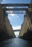 Corinth kanal Royaltyfri Foto