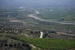 Corinth krajobraz, Grecja Zdjęcie Stock