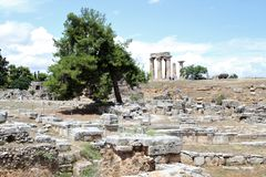 Corinthe - la Grèce image stock