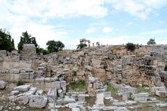 Corinthe - la Grèce photo stock