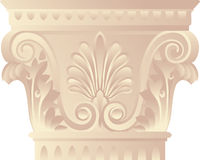 Corinthian capital Stock Photo