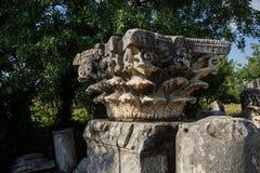 Corinthian capitals Stock Image