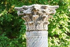 Corinthian capitals Royalty Free Stock Photos
