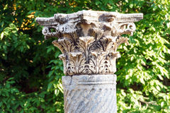 Corinthian capitals Stock Photo