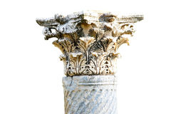 Corinthian capitals Stock Photography