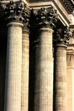 Corinthian capitol. From the Pantheon of Paris Stock Photos
