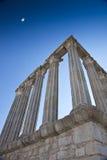 Corinthian Collumns em Évora Fotografia de Stock Royalty Free