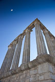 Corinthian Collumns at Evora Royalty Free Stock Photography